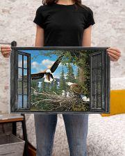 Eagle 2 24x16 Poster poster-landscape-24x16-lifestyle-20