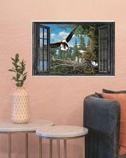 Eagle 2 24x16 Poster poster-landscape-24x16-lifestyle-22