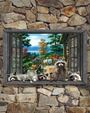 Raccoon 17x11 Poster aos-poster-landscape-17x11-lifestyle-16