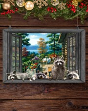Raccoon 17x11 Poster aos-poster-landscape-17x11-lifestyle-27