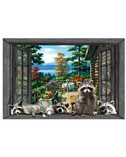 Raccoon 17x11 Poster front