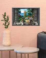 Raccoon 17x11 Poster poster-landscape-17x11-lifestyle-21