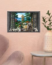 Raccoon 17x11 Poster poster-landscape-17x11-lifestyle-22
