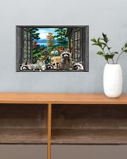 Raccoon 17x11 Poster poster-landscape-17x11-lifestyle-24