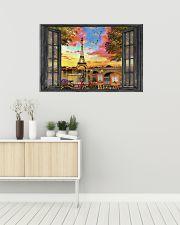 Eiffel Tower 3 36x24 Poster poster-landscape-36x24-lifestyle-01