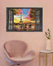 Eiffel Tower 3 36x24 Poster poster-landscape-36x24-lifestyle-19