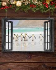 Penguin 2 17x11 Poster aos-poster-landscape-17x11-lifestyle-27