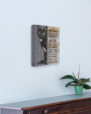 I Am Your Black Cat 11x14 Gallery Wrapped Canvas Prints aos-canvas-pgw-11x14-lifestyle-front-01