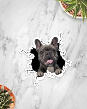 French Bulldogs Crack Sticker - Single (Vertical) aos-sticker-single-vertical-lifestyle-front-06