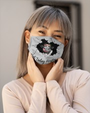 Not Today Heifer Crack Cloth face mask aos-face-mask-lifestyle-17