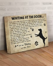 Dogs will be waiting at the door 14x11 Gallery Wrapped Canvas Prints aos-canvas-pgw-14x11-lifestyle-front-07