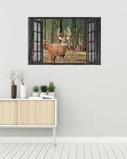 Deer 16 36x24 Poster poster-landscape-36x24-lifestyle-01