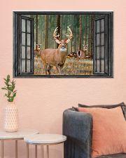Deer 16 36x24 Poster poster-landscape-36x24-lifestyle-18