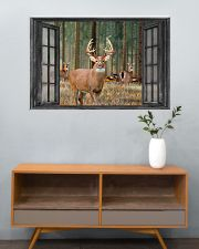 Deer 16 36x24 Poster poster-landscape-36x24-lifestyle-21