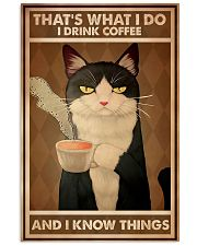 Tuxedo Cat That's What I Do 11x17 Poster front