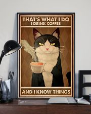 Tuxedo Cat That's What I Do 11x17 Poster lifestyle-poster-2