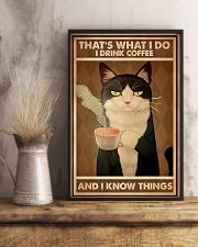 Tuxedo Cat That's What I Do 11x17 Poster lifestyle-poster-3