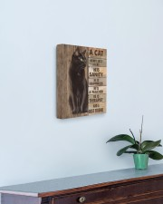 A cat is not just a cat 11x14 Gallery Wrapped Canvas Prints aos-canvas-pgw-11x14-lifestyle-front-01