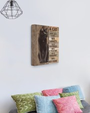 A cat is not just a cat 11x14 Gallery Wrapped Canvas Prints aos-canvas-pgw-11x14-lifestyle-front-02