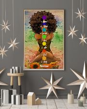 Meditation black queen 16x24 Poster lifestyle-holiday-poster-1