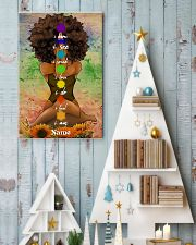 Meditation black queen 16x24 Poster lifestyle-holiday-poster-2