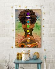 Meditation black queen 16x24 Poster lifestyle-holiday-poster-3