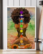 Meditation black queen 16x24 Poster lifestyle-poster-4