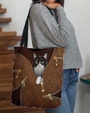 Tuxedo Cat All-over Tote aos-all-over-tote-lifestyle-front-09