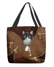 Tuxedo Cat All-over Tote front
