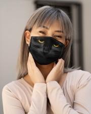 Black Cat Cloth face mask aos-face-mask-lifestyle-17