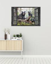 Bear 3 36x24 Poster poster-landscape-36x24-lifestyle-01