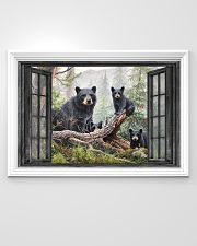 Bear 3 36x24 Poster poster-landscape-36x24-lifestyle-02