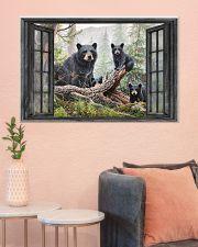 Bear 3 36x24 Poster poster-landscape-36x24-lifestyle-18
