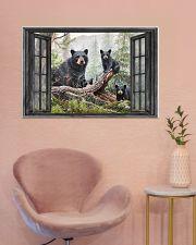 Bear 3 36x24 Poster poster-landscape-36x24-lifestyle-19