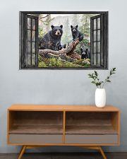 Bear 3 36x24 Poster poster-landscape-36x24-lifestyle-21