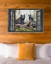 Bear 3 36x24 Poster poster-landscape-36x24-lifestyle-23