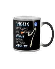 Black Cat Angels Color Changing Mug tile