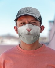 White Cat Cloth face mask aos-face-mask-lifestyle-06