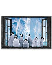 Penguin 5 17x11 Poster front