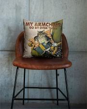 Cat Square Pillowcase aos-pillow-square-front-lifestyle-04