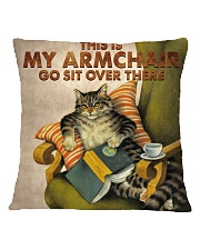 Cat Square Pillowcase front