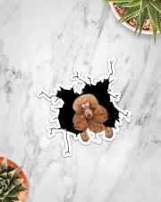 Poodle Crack Sticker - Single (Vertical) aos-sticker-single-vertical-lifestyle-front-06