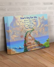 Don't Cry For Me 14x11 Gallery Wrapped Canvas Prints aos-canvas-pgw-14x11-lifestyle-front-07