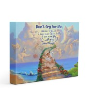Don't Cry For Me 14x11 Gallery Wrapped Canvas Prints front