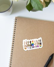 human-kind Sticker - Single (Vertical) aos-sticker-single-vertical-lifestyle-front-16