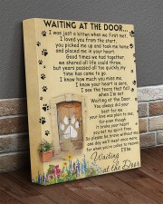 Cat will be waiting at the door - Beige color 11x14 Gallery Wrapped Canvas Prints aos-canvas-pgw-11x14-lifestyle-front-10