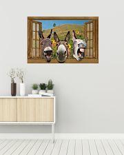 Donkey 36x24 Poster poster-landscape-36x24-lifestyle-01