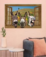 Donkey 36x24 Poster poster-landscape-36x24-lifestyle-18