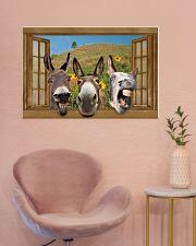 Donkey 36x24 Poster poster-landscape-36x24-lifestyle-19