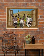 Donkey 36x24 Poster poster-landscape-36x24-lifestyle-20